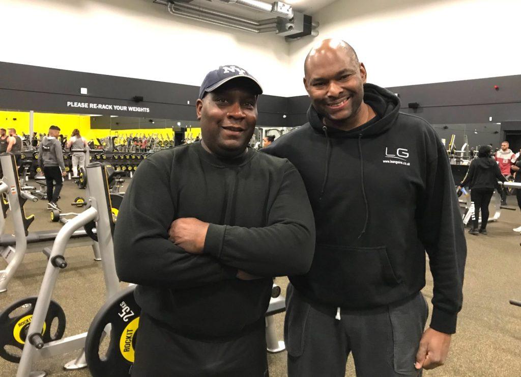 2 bodybuilders lean gains. uk